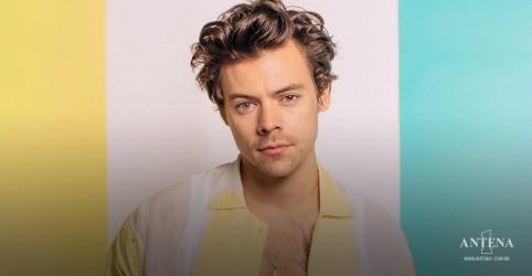 Placeholder - loading - Imagem da notícia Harry Styles quer fãs testados ou vacinados antes dos shows