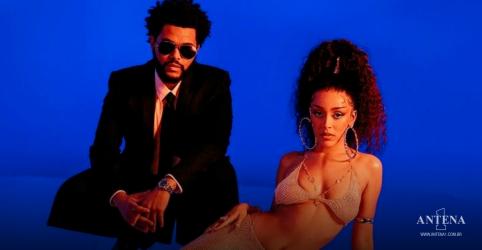 Placeholder - loading - Imagem da notícia Doja Cat realiza colaboração com The Weeknd