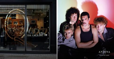 Placeholder - loading - Imagem da notícia Queen abre loja em comemoração aos 50 anos da banda