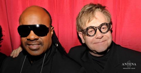 Placeholder - loading - Imagem da notícia Lançamento da Semana: 'Finish Line' parceria de Elton John com Stevie Wonder