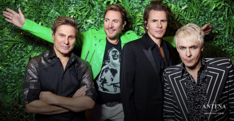 Placeholder - loading - Imagem da notícia Duran Duran e Tove Lo divulgam novo single Give It All Up