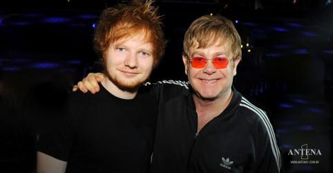 Placeholder - loading - Imagem da notícia Ed Sheeran confirma lançamento de especial natalino com Elton John