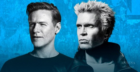 Bryan Adams e Billy Idol encerram turnê conjunta
