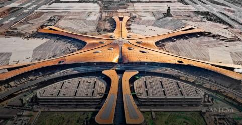 Confira como será novo aeroporto de Pequim
