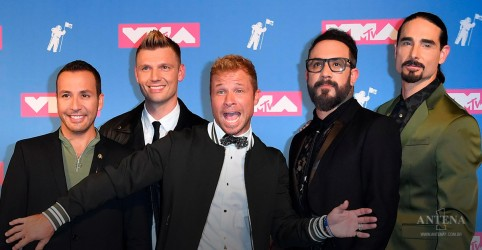Backstreet Boys anuncia datas de shows no Brasil