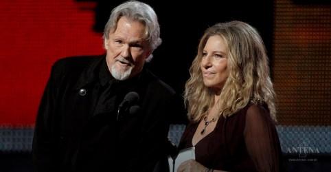 Placeholder - loading - Imagem da notícia Barbra Streisand e Kris Kristofferson cantam single de Nasce uma estrela