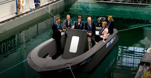 Maior barco 3D da história é criado por pesquisadores norte-americanos