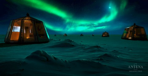 Empresa oferece estadia em luxuoso hotel no Polo Norte