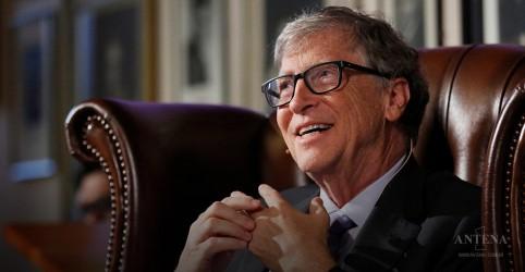 Placeholder - loading - Imagem da notícia Bill Gates fala sobre desnutrição e fim da malária
