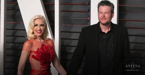 Placeholder - loading - Imagem da notícia Gwen Stefani e Blake Shelton se apresentam em especial de ano novo