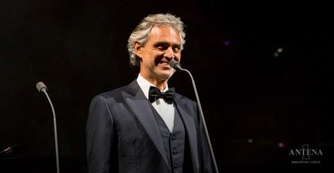 Placeholder - loading - Imagem da notícia Andrea Bocelli bate recorde com live!