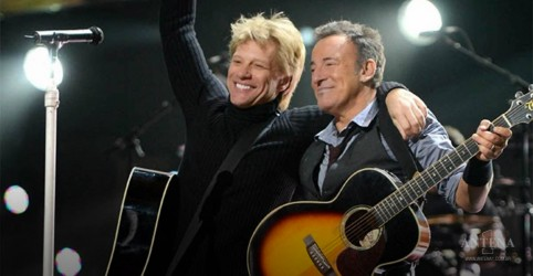Placeholder - loading - Bon Jovi e Bruce Springsteen emocionam espectadores no evento Jersey 4 Jersey