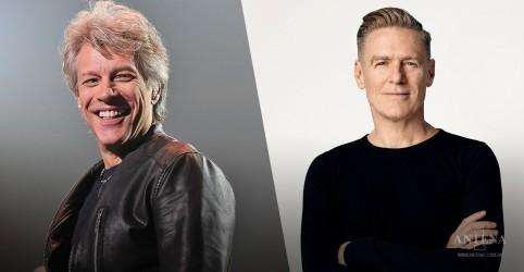 Bon Jovi anuncia turnê com Bryan Adams