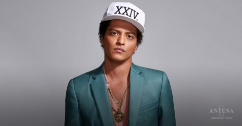 Bruno Mars é o Artista da Semana!