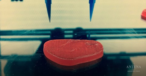 Placeholder - loading - Carne impressa em 3D é testada