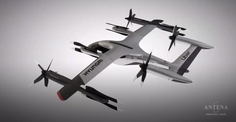 Placeholder - loading - Imagem da notícia Carro voador é apresentado pela Hyundai