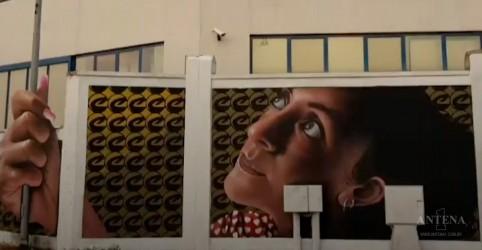 Placeholder - loading - Imagem da notícia O realismo do grafite do artista italiano Cheone