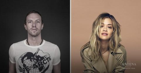 Placeholder - loading - Imagem da notícia Chris Martin e Rita Ora fazem cover para caridade