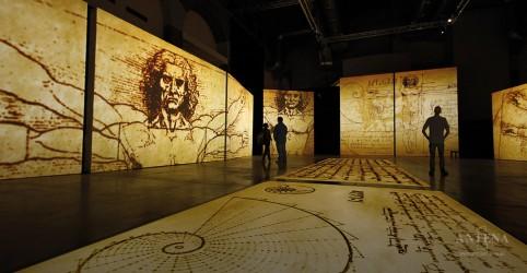 Placeholder - loading - Imagem da notícia MIS traz exposição sobre Leonardo da Vinci
