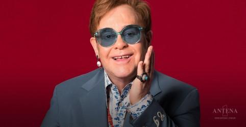 Placeholder - loading - Imagem da notícia Elton John faz publicação para comemorar sobriedade