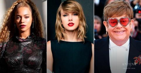 Placeholder - loading - Imagem da notícia Beyoncé, Taylor Swift e Elton John são indicados ao Globo de Ouro