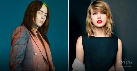 Placeholder - loading - Imagem da notícia Taylor Swift e Billie EIlish participam de campanha de incentivo a voto