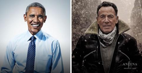 Placeholder - loading - Imagem da notícia Barack Obama e Bruce Springsteen anunciam o livro Renegades: Born in the U.S.A.
