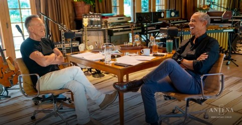 Placeholder - loading - Bruce Springsteen faz podcast com Obama e relembra músicas