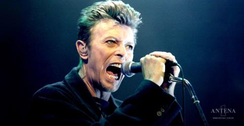 Material inédito de David Bowie será lançado em abril
