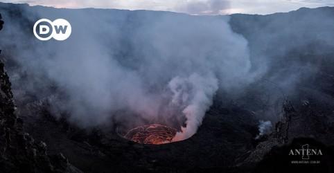 Placeholder - loading - Vulcão Nyiragongo: Crianças esperam reencontrar famílias