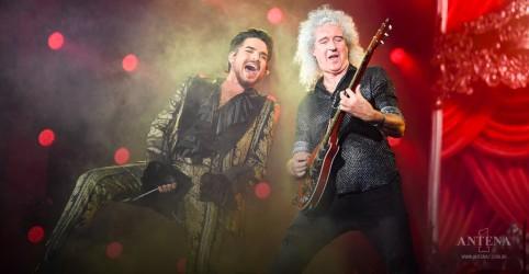 Queen sobe aos palcos com Adam Lambert em apoio a Austrália!