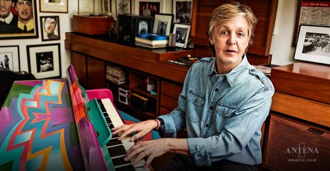 Placeholder - loading - Imagem da notícia Paul McCartney: Beck transforma single em dança funky