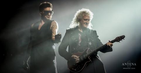 Placeholder - loading - Imagem da notícia Queen e Adam Lambert anunciam primeiro álbum ao vivo