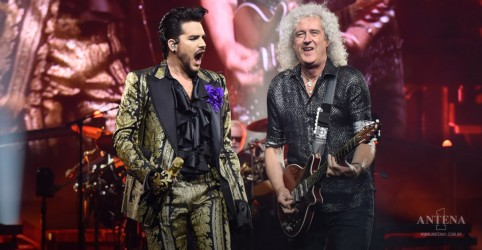 Placeholder - loading - Imagem da notícia Queen e Adam Lambert fazem homenagem em redes sociais