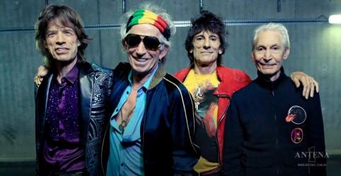 Placeholder - loading - Imagem da notícia Rolling Stones anunciam faixa inédita gravada em 1975 com Jimmy Page