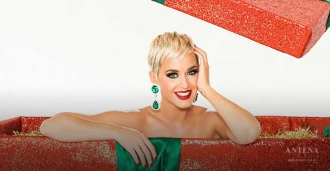 Placeholder - loading - Imagem da notícia Katy Perry se diverte em clipe de faixa natalina