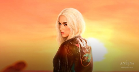 "Katy Perry lança clipe de ""Harley's in Hawaii"""
