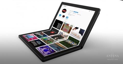 Placeholder - loading - Imagem da notícia Conheça o primeiro computador com tela flexível do mundo