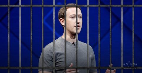 Placeholder - loading - Senadores norte-americanos acreditam que CEO do Facebook deveria ser preso