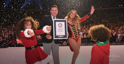 Mariah Carey entra para o Guinness Book por música natalina