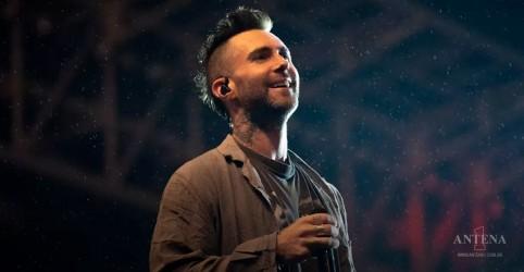 Maroon 5 faz show em São Paulo!