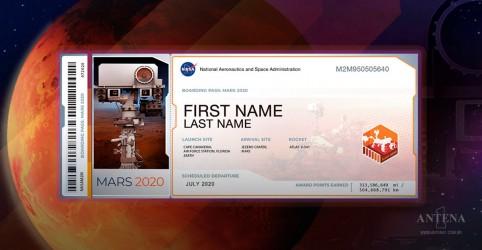 Nasa permite que pessoas levem seus nomes a Marte