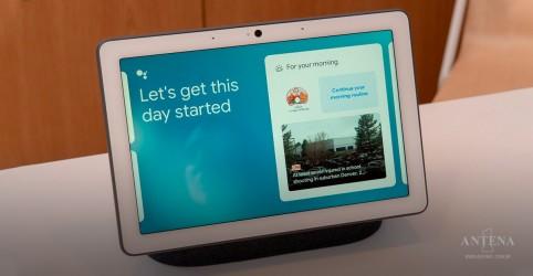 Conheça o Nest Hub Max, a tela inteligente do Google