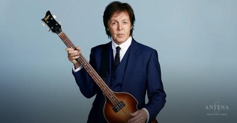 Paul McCartney trabalha em seu primeiro musical
