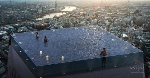 Placeholder - loading - Imagem da notícia Conheça a primeira piscina com borda infinita com vista 360º do mundo