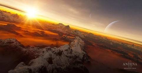 Placeholder - loading - Imagem da notícia Planeta e estrela são batizados de Guarani e Tupi