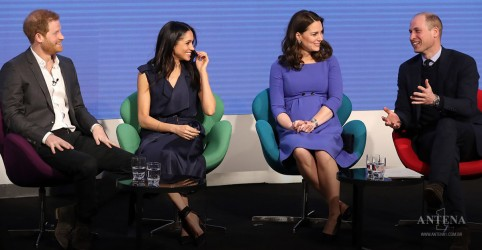 Placeholder - loading - Realeza britânica se junta para falar sobre saúde mental