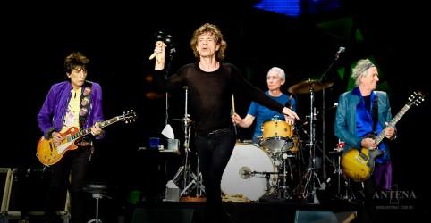 """Depois de muitas décadas, Rolling Stones tocam """"Harlem Shuffle"""" ao vivo"""