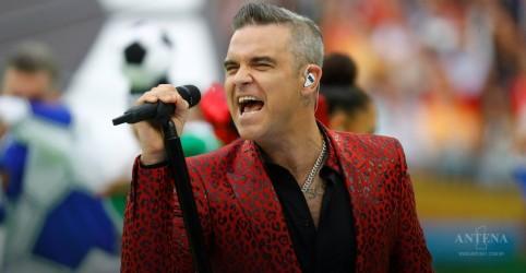 """""""Electrico Romantico"""", de Robbie Williams, é o Lançamento da Semana"""