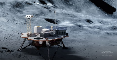 """Placeholder - loading - Imagem da notícia Lua pode ser """"oitavo continente da Terra"""""""